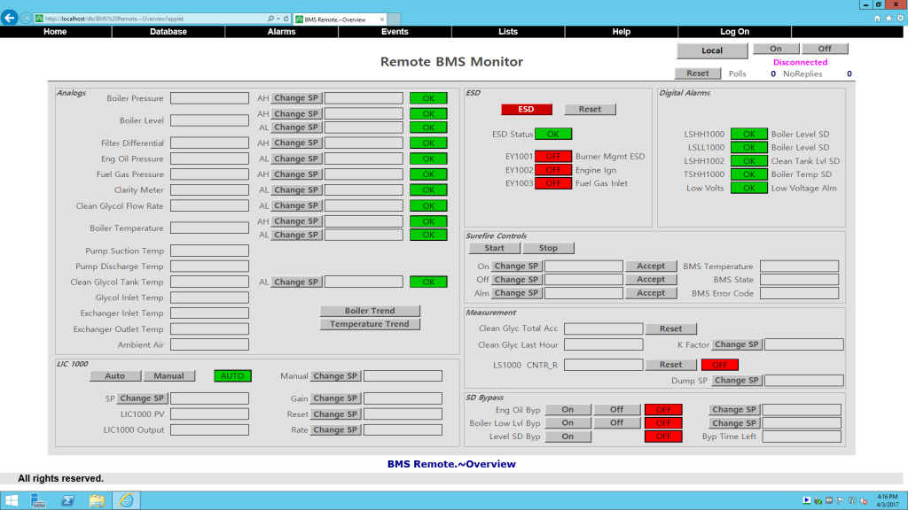 Post Changes WebX Screenshot