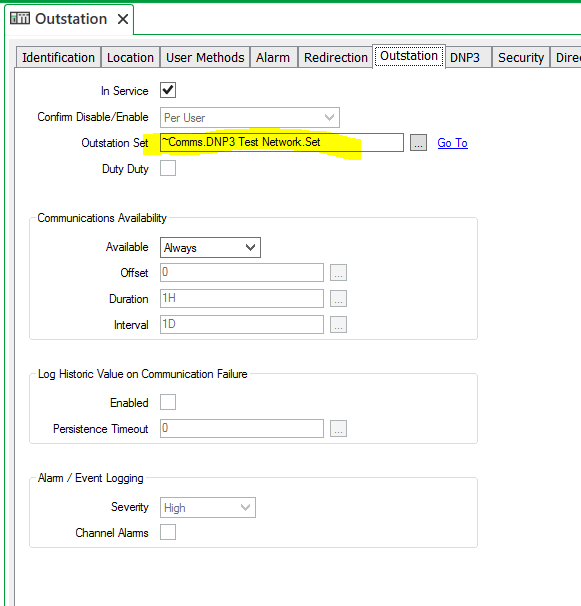 Setup ClearSCADA Ethernet DNP3 Communications to a SCADAPack